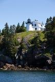 Bären-Insel-Leuchtturm Lizenzfreie Stockfotografie