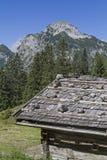 Bärenbadalm in Karwendel mountains Stock Photos