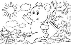 Bärenkünstler Lizenzfreie Stockbilder
