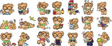 Bärn-Karikatur Stockfoto