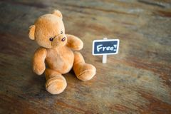 Bärn-Puppe Lizenzfreie Stockfotos