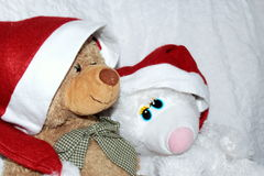 Bärn-Weihnachten Stockbild