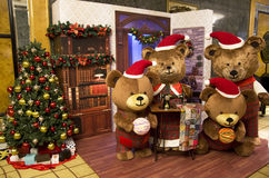 Bärn-Weihnachtsbaum Stockfotos