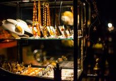 Bärnstensfärgad gata Royaltyfri Bild