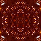 Bärnstensfärgade droppar hartsar modellkalejdoskopet textur royaltyfria bilder
