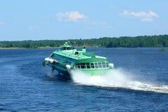 bärplansbåt Arkivbilder
