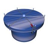 bäst blå choice lektabell för dark 3d Arkivfoto