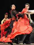 bäst carmen dansar dramaflamenco arkivbilder