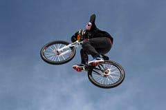 bäst cykeltevatrick Arkivfoton