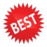 bäst etikett Fotografering för Bildbyråer