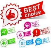 bäst färgetiketter Fotografering för Bildbyråer