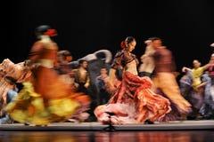 bäst flamenco för carmendansdrama royaltyfria bilder