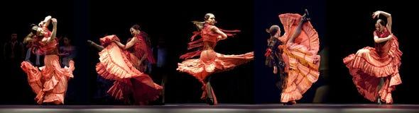 bäst flamenco för carmendansdrama Royaltyfri Bild