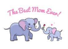 bäst mom Royaltyfri Bild