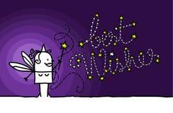 bäst wishes stock illustrationer