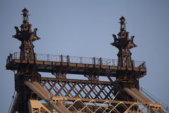 Bästa detalj av bron. Royaltyfri Foto
