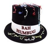 Bästa hatt för BAH-HUMBUGberöm arkivfoton