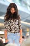 Bästa modellera Rebecca Mir Arkivfoto