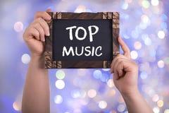 Bästa musik royaltyfria foton