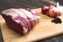 Bästa sida av nötkött arkivfoto