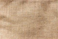 Bästa sikt av brun säckväv Arkivbild