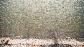 Bästa sikt av den härliga stranden Flyg- surrskott av havsvatten på stranden Arkivfoton