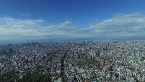 Bästa sikt av den Osaka staden arkivfilmer