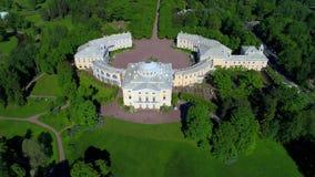 Bästa sikt av den Pavlovsk slotten Pavlovsk omgivning av St Petersburg lager videofilmer