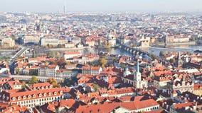 Bästa sikt av den Prague staden Royaltyfri Bild