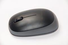 Bästa sikt av den svarta och gråa trådlösa musen Fotografering för Bildbyråer