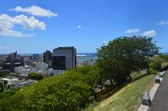 Bästa sikt av huvudstaden av Mauritius, Port Louis Arkivbilder