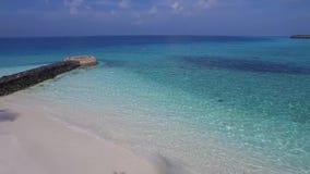 Bästa sikt av Maldiverna arkivfilmer