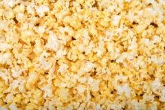 Bästa sikt för bakgrund av popcorn fotografering för bildbyråer