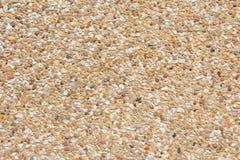 Bästa sikt för brun grustextur Arkivfoto