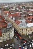 Bästa sikt för Cluj Napoca stad romania Royaltyfri Foto