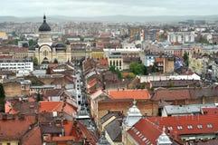 Bästa sikt för Cluj Napoca stad romania Royaltyfria Bilder