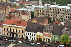 Bästa sikt för Cluj Napoca stad romania Fotografering för Bildbyråer