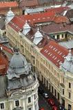 Bästa sikt för Cluj Napoca stad romania Royaltyfria Foton