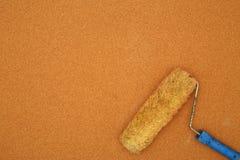Bästa sikt för rullborste arkivbild