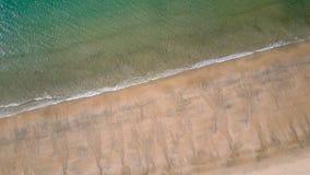 Bästa sikt för sand och för hav Arkivfoton