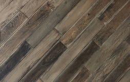 Bästa sikt på ett gammalt wood lantligt golv Bakgrund och texturerar arkivfoton