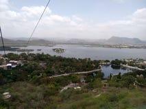 Bästa sikt Udaipur royaltyfria bilder
