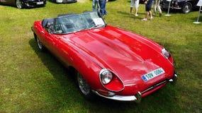 Bästa sportbilar, Jaguar Royaltyfri Fotografi
