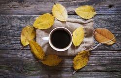 Bästa svart kaffe beskådar arkivfoto