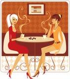 bästa vän royaltyfri illustrationer
