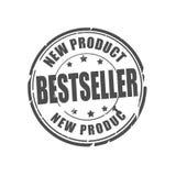 Bästsäljare ny produktvektorstämpel Royaltyfri Fotografi