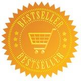 Bästsäljaresymbol royaltyfri illustrationer