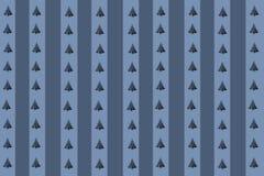 Bäume blau Lizenzfreie Stockbilder
