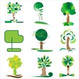 Bäume und Gras Lizenzfreie Stockfotos