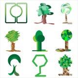 Bäume und Gras II Lizenzfreie Stockfotos